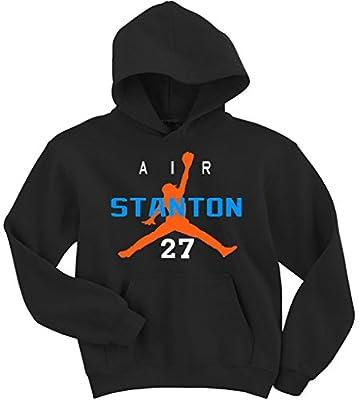 "Giancarlo Stanton Miami Marlins ""Air Stanton"" Hooded Sweatshirt"