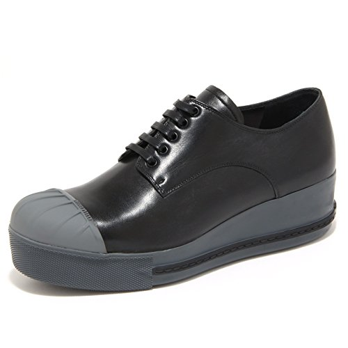 4505N scarpe MIUMIU sneaker donna shoes woman nero [38.5]