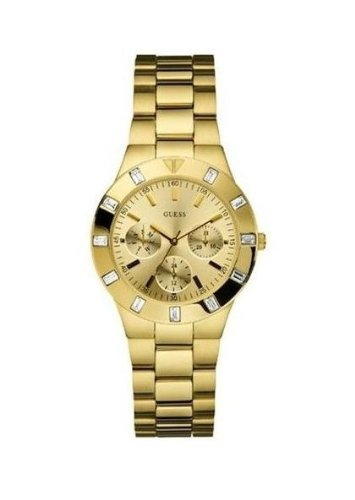 GUESS U11058L1 Feminine Hi-Shine Sport Mid-Size Watch