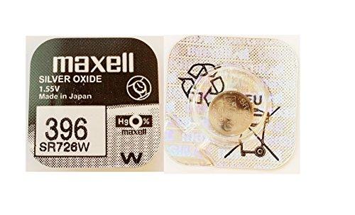 Pile bouton 396 (SR726W) SR59 1.55V Maxell