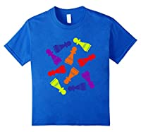 Chess T-Shirt. Chess Pawn Piece. Multi-colored chess Tee