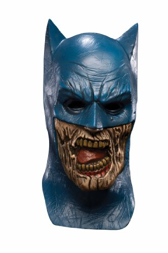 Rubie's Costume Co Blackest Night Batman Zombie Overhead Latex Mask
