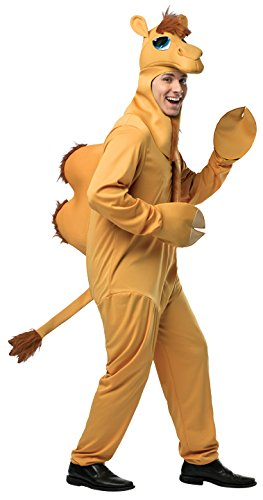 [Dressing Up & Costumes- Camel 7-10 Jumpsuit, Headpiece and Gloves, Child Size 7-10 -] (Camel Child Costumes)