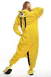 Engerla Animal Cosplay Halloween Kigurumi Pajamas Lounge Wear Fleece Pluto Dog