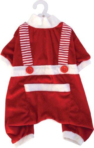 Dogit Santa Large Pajamas front-897721