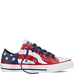 Converse Junior Chuck Taylor American Flag Ox Blue/Red/White 650525F (03.0)