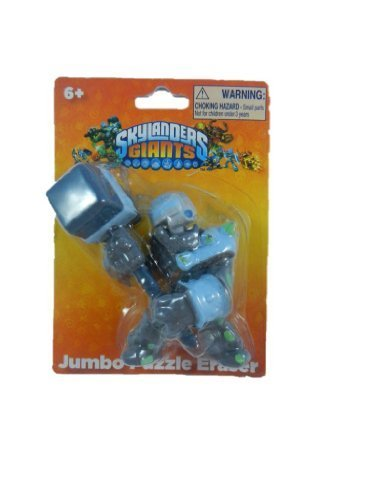 Jumbo Puzzle Eraser 'Crusher' Skylander Giants (Skylanders Easter Basket compare prices)