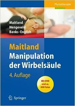 Manipulation der Wirbelsäule (German Edition) (German) 4. Aufl. 2008