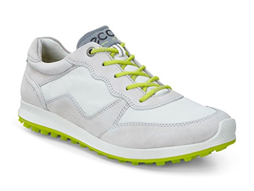 Ecco Womens Biom Hybrid 2 Lite Gravel/Shadow White Golf Shoes