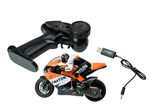 RC Motorcycle Dirt Bike Toy For Kids - 4 Channel Remote ...