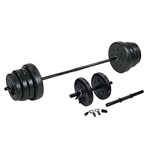 US Weight 105 lb. Weight Set with Dumbbells by Escalade Sports