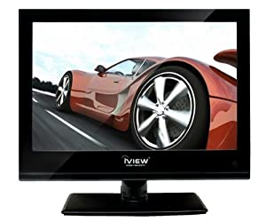 iview 1300LEDTV 13.3-Inch 720p 1200Hz LCD TV DVD Combo (Black)