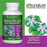 TruNature Ginko Biloba with Vinpocetine, 300-softgels Bottle