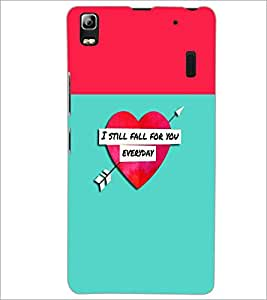 PrintDhaba Quote D-2632 Back Case Cover for LENOVO A7000 PLUS (Multi-Coloured)