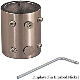 Downrod Coupler Length Extender for High Ceilings Finish: Polished Nickel