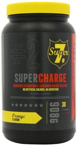 Super 7 908g Super Charge Pre Workout Orange