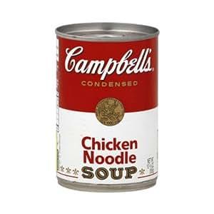Campbell 39 s chicken noodle soup 16 oz for 10 calorie soup gourmet cuisine