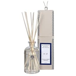 2 Pack Votivo Clean Crisp White #19 Aromatic Reed Diffusers