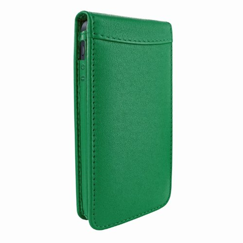 Special Sale Apple iPhone 5 / 5S Piel Frama Green Magnetic Leather Cover