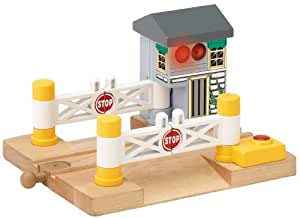 Thomas And Friends Wooden Railway - Deluxe Railroad Crossing