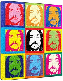 Iggy pop pop art print andy warhol 39 s che guevara style for Iggy pop t shirt amazon