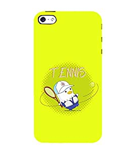99Sublimation Tennis 3D Hard Polycarbonate Back Case Cover for Apple iPhone SE