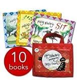 img - for Hairy Maclary & Friends Collection Lynley Dodd 5 Books Set Slinky Malinki Series (Zachary Quack Minimonster, Slinky Malinki, Open the Door, Slinky Malinki Catflaps, Slinky Malinki, Scarface Claw) book / textbook / text book