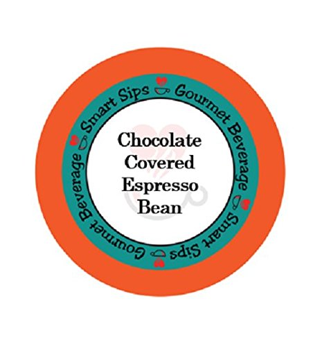 Chocolate Covered Espresso Bean, 24 Count Espresso Single Serve Cups, Compatible With All Keurig K-cup Brewers (Godiva Espresso Beans compare prices)