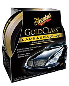Meguiars G7014j 11-Oz. Gold Class Premium Car Wax Paste Car Wax from Meguiars