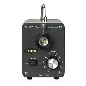 AmScope LED-30W 30W LED Cold Fiber Optic Illuminator by AmScope