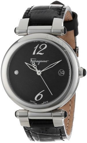 Ferragamo Women's F76SBQ9909 SB09 Ballerina Stainless Steel Watch