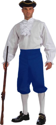 Unisex Adult Men's Colonial Knickers Blue Colonial Clothing