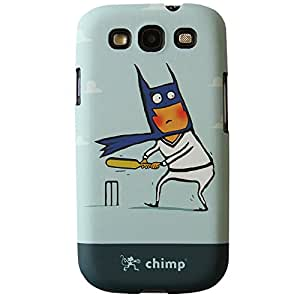 Chimp Batsman Samsung Galaxy S3 Case