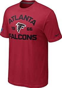 Nike Atlanta Falcons Arch T-Shirt - Red by Nike