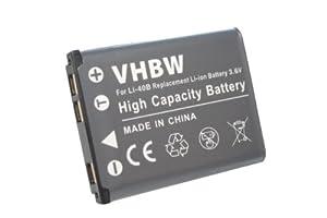 Batterie LI-ION pour OLYMPUS VH-210, VR-325, VR-330, TG-320 remplaçant LI-40B LI-42B