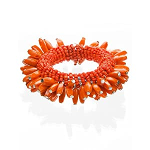 Sunflower Napkin Ring - Orange