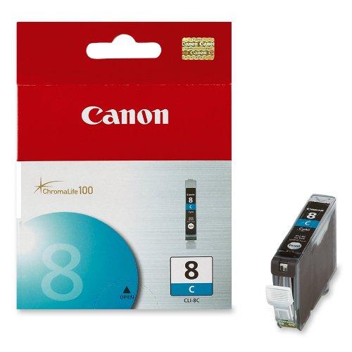 Canon 0621B002 CLI-8C Ink Tank (Cyan)