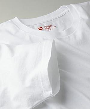 (ヘインズ)Hanes JAPANFIT CREW NECK T-SHIRT【2枚組】 H5110 010 ホワイト M