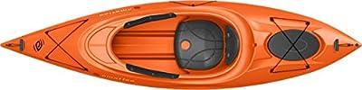 90490 Emotion Guster Sit-Inside Kayak, Orange, 10' by Lifetime OUTDOORS
