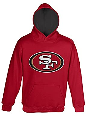 San Francisco 49ers Toddler Primary Gear Red Hooded Sweatshirt