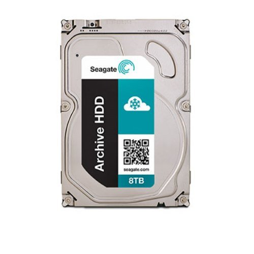 Seagate シーゲイト 内蔵ハードディスク Archive ( アーカイブ ) 8TB ( 3.5 インチ / SATA 6Gb/s NCQ / 5900rpm / 128MB) 正規輸入品 ST8000AS0002