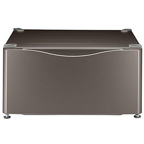 Kenmore Elite 13.9'' Laundry Pedestal w/ Storage Drawer - Metallic Silver 51043 (Kenmore Pedestal compare prices)