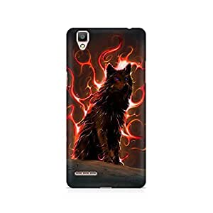 Mobicture Wolf Premium Printed Case For Oppo F1