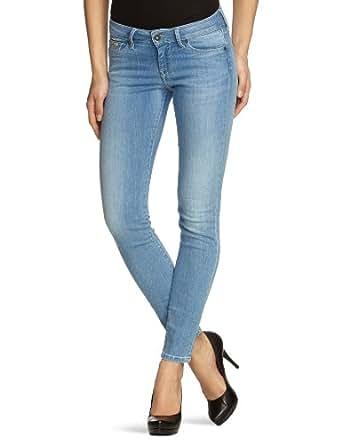 Pepe Jeans - Jean - Skinny/Slim - Femme - Bleu (000Denim) - FR : 29W/30L (Taille fabricant : 29/30)