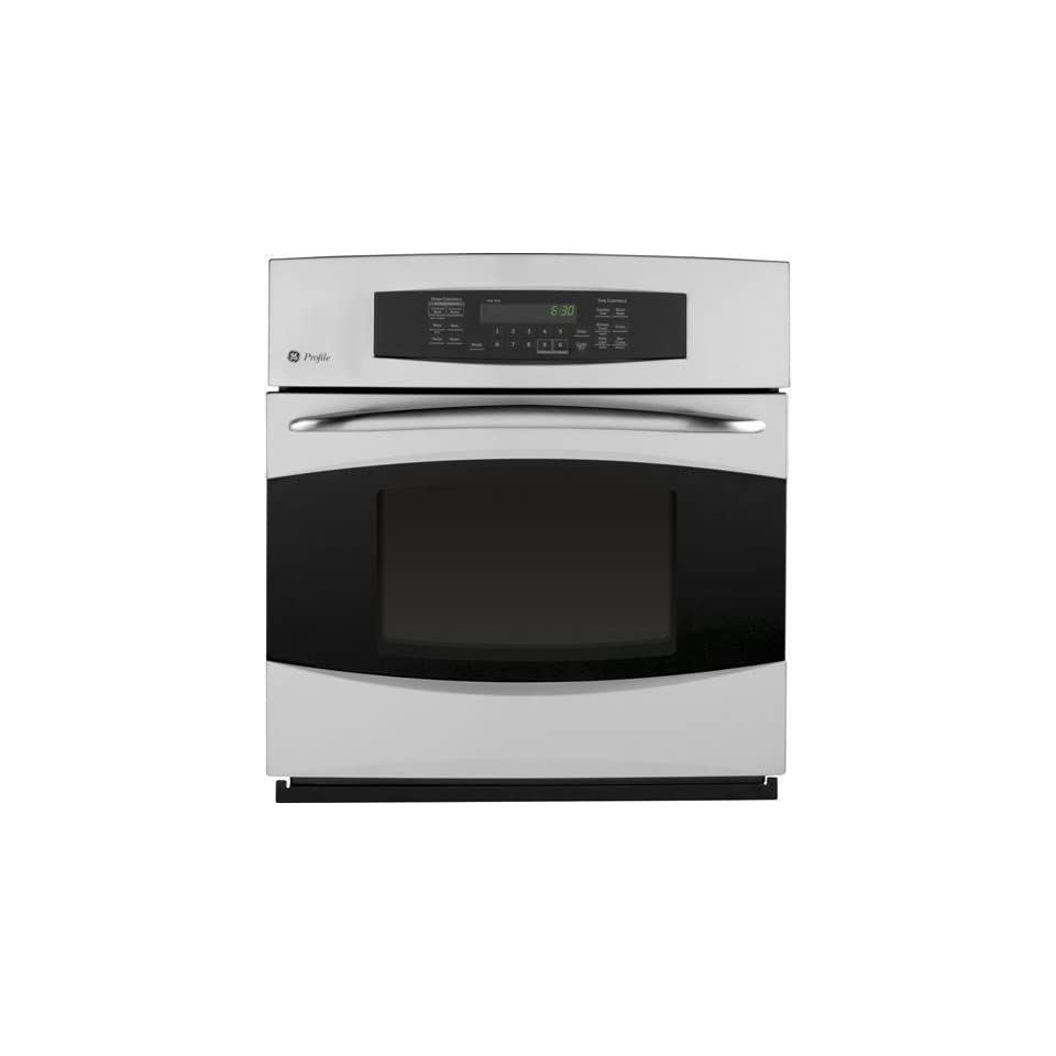 GE PK916SRSS Profile 27 Stainless Steel Electric Single Wall Oven   Convection