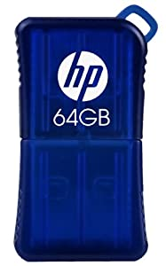 HP 64GB HP v165w USB Flash Drive (P-FD64GHP165-GE)