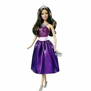 Barbie Princess Teresa Purple Dress Doll - 2012 Version