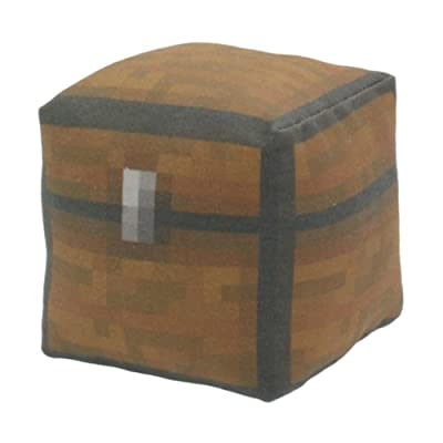 Minecraft Chest Block Plush Toy For Babies And Toddlers Large from Happy Toy Machine