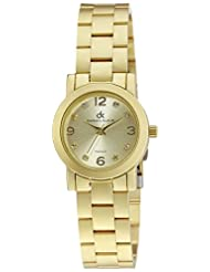 Daniel Klein Analog Gold Dial Women's Watch - DK10416-4