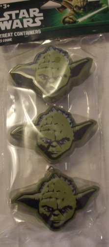Star Wars Treat Containers - Yoda - Package of 3